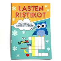 Ristikko tehtäväkirja Pöllö 10 kpl 0,75€ kpl (ovh hinta 2,90€)