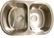 Teräksinen keittiöallas Strand 77cm 185,00€ Nyt 39,00€