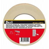 Maalarinteippi Diall 24mm Ale-hinta 12 rullaa 0,50€ rulla