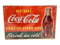 Nostalgisia Coca-Cola peltikylttejä 24 kpl 2,50€ kpl