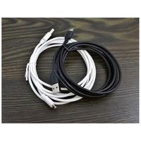 USB mikro usb kaapeli Valkoinen 12 kpl 0,49€ kpl