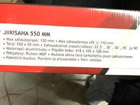 Jiirisaha 55cm 7 kpl 12,00€ kpl