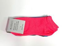 Naisten matalavarsi sukka puuvilla 24 paria 0,25€ pari