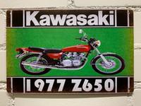 Nostalgisia  Japanin ja Italian moottoripyörä peltikylttejä 25 kpl 2,50€ kpl