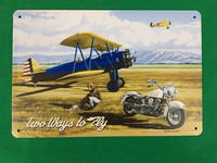 Nostalgisia U.S.A lentokoneita peltitauluissa 31kpl 2,50€ kpl.