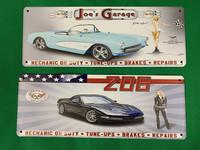 Nostalgisia Jenkki-autoja peltitauluissa 37kpl 2,50€ kpl.