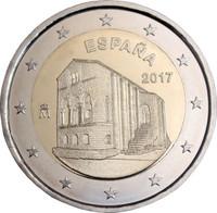Espanja 2 € 2017 Santa María del Noronco