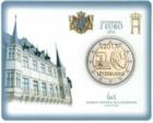 Luxemburg 2 € 2017 Vapaaehtoinen asepalvelus 50 v. coincard