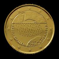 Suomi 2 € 2015 Akseli Gallen-Kallela kullattu