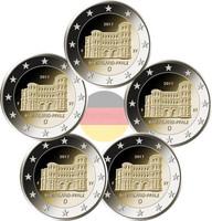 Saksa 2 € 2017 Rheinland-Pfalz A-J