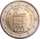 San Marino 2 € 2002 Linnoitus UNC