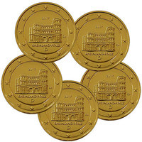 Saksa 2 € 2017 Rheinland-Pfalz A-J kullattu