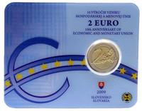 Slovakia 2 € 2009 EMU coincard