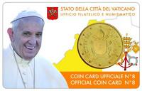 Vatikaani 50s 2017 coincard