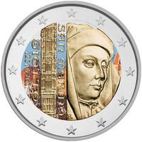 San Marino 2 € 2017 Giotto väritetty
