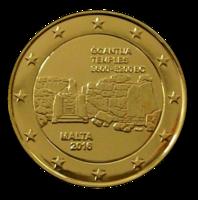 Malta 2 € 2016 Ġgantija kullattu