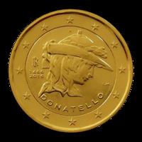 Italia 2 € 2016 Donatello kullattu