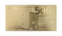Euroopan Unioni 500 € 24k kultaus