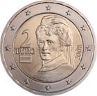 Itävalta 2 € 2002 Bertha von Suttner UNC