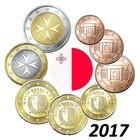 Malta 1s - 2 € 2017 BU
