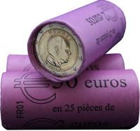 Monaco 2 € 2015 Albert II rulla
