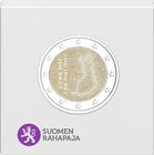 Suomi 2 € 2017 Itsenäinen Suomi 100 vuotta Proof