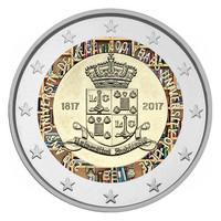 Belgia 2 € 2017 Liégen yliopisto 200 v. väritetty BU