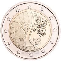 Viro 2 € 2017 Viron itsenäisyysjulistus 100 v.