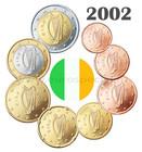 Irlanti 1s - 2 € 2002 UNC