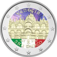 Italia 2 € 2017 San Marco - Venezia väritetty