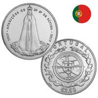 Portugali 2,50 € 2017 Fátima 100 vuotta