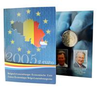 Belgia 2 € 2005 Belgian & Luxemburgin talousliitto coincard