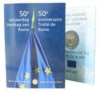 Belgia 2 € 2007 Rooman Sopimus coincard