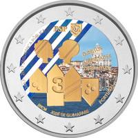 Portugali 2 € 2017 Polícia de Segurança Pública väritetty