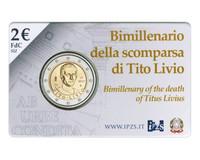 Italia 2 € 2017 Titus Livius BU coincard