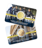 Belgia 2 € 2017 Gentin yliopisto 200 v. coincard BU