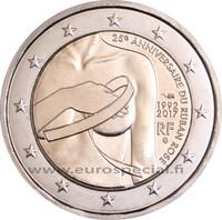 Ranska 2 € 2017 Roosannauhan päivä 25 v.
