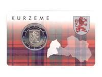 Latvia 2 € 2017 Kurzeme BU coincard