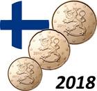 Suomi 10 - 50 senttiä 2018 UNC