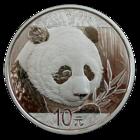 Kiina 10 ¥ 2018 Panda 30g Ag