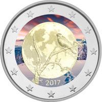 Suomi 2 € 2017 Suomalainen luonto väritetty
