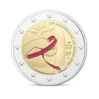 Ranska 2 € 2017 Roosannauhan päivä 25 v. Proof