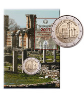 Kreikka 2 € 2017 Filippoi coincard