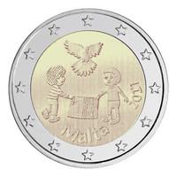 Malta 2 € 2017 Peace