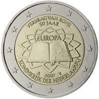 Alankomaat 2 € 2007 Rooman Sopimus
