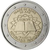 Ranska 2 € 2007 Rooman Sopimus