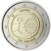 Espanja 2 € 2009 EMU