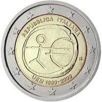 Italia 2 € 2009 EMU