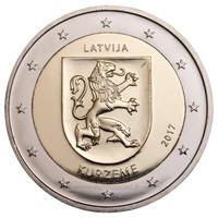 Latvia 2 € 2017 Kurzeme
