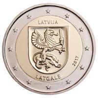 Latvia 2 € 2017 Latgale